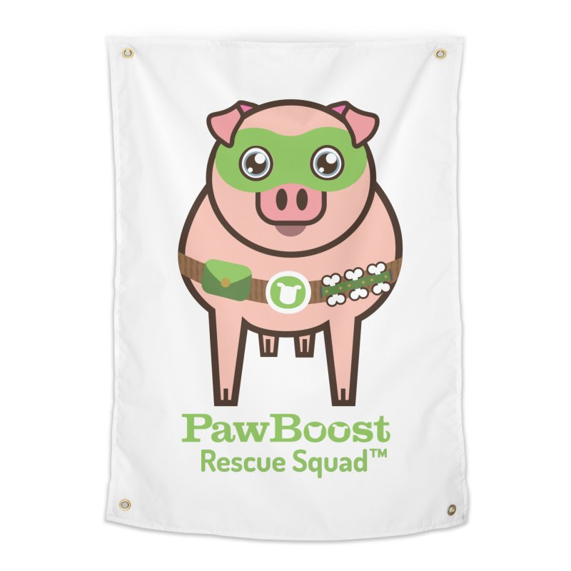 Presley (pig) Home Tapestry by PawBoost's Shop