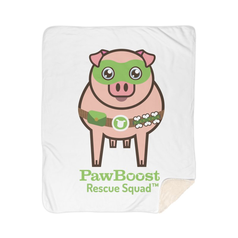 Presley (pig) Home Blanket by PawBoost's Shop