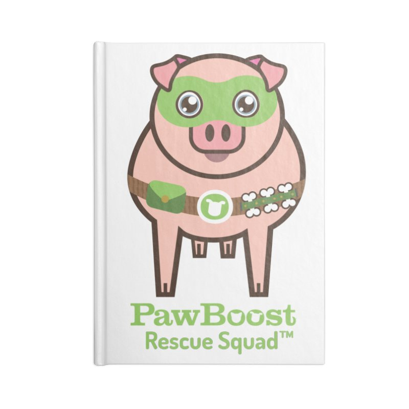 Presley (pig) Accessories Notebook by PawBoost's Shop