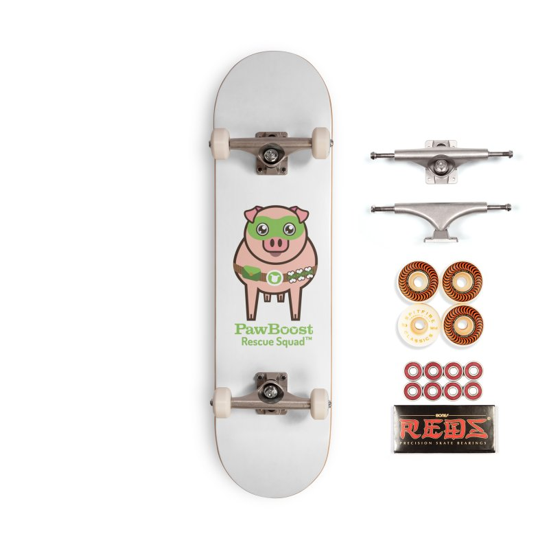 Presley (pig) Accessories Skateboard by PawBoost's Shop