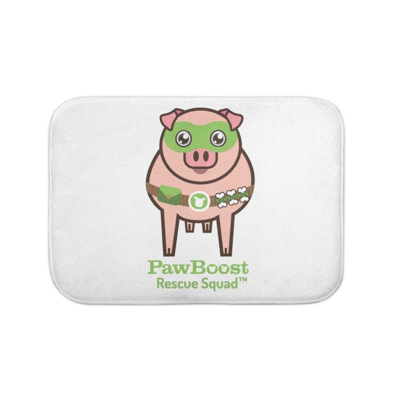 Presley (pig) Home Bath Mat by PawBoost's Shop