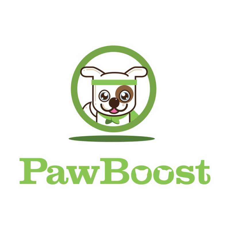 PawBoost Logo Men's Zip-Up Hoody by PawBoost's Shop