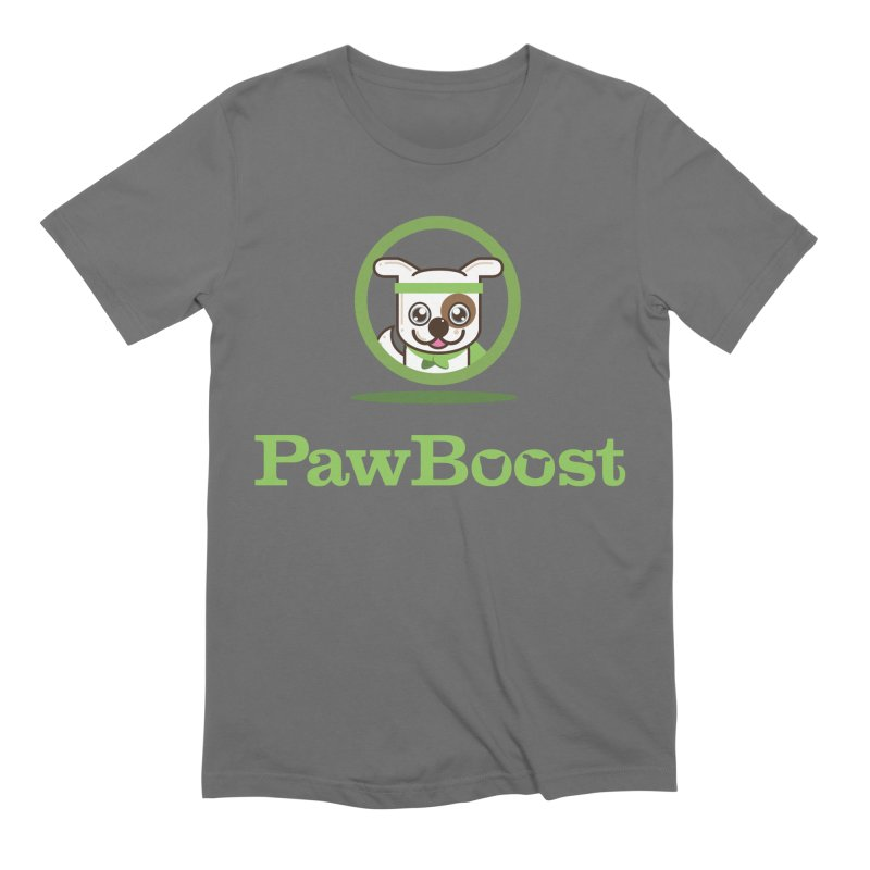 PawBoost Logo Men's T-Shirt by PawBoost's Shop