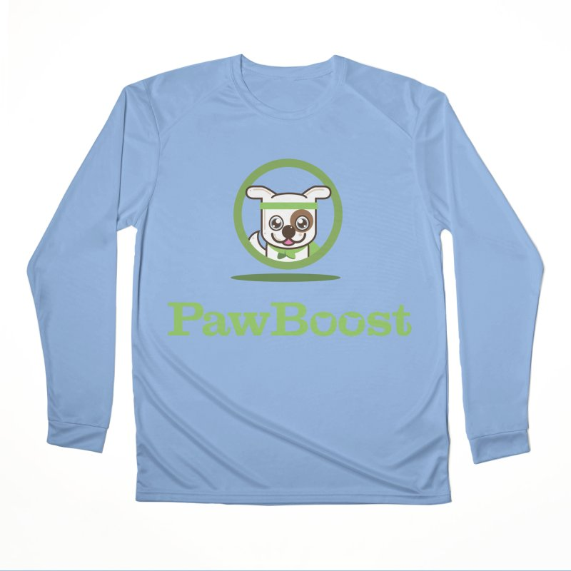 PawBoost Logo Men's Longsleeve T-Shirt by PawBoost's Shop