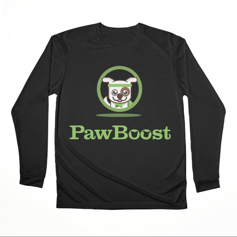 PawBoost Logo Men's Longsleeve T-Shirt by PawBoost's Shop
