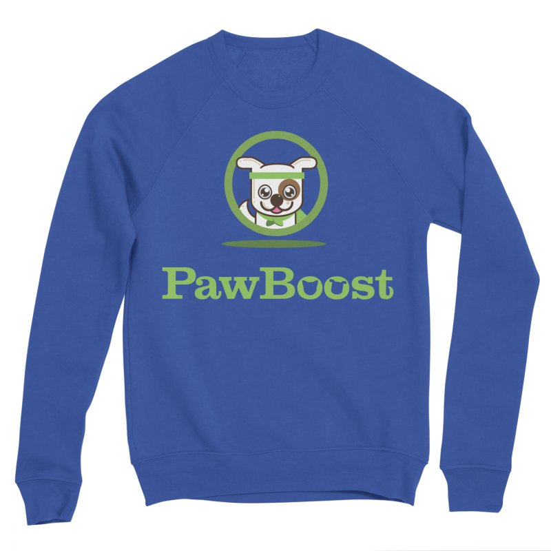 PawBoost Logo Men's Sweatshirt by PawBoost's Shop