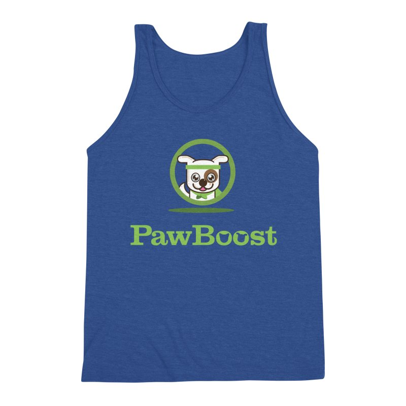 PawBoost Logo Men's Tank by PawBoost's Shop