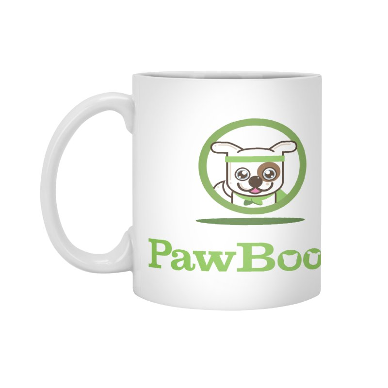 PawBoost Logo Accessories Mug by PawBoost's Shop