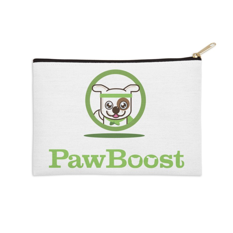 PawBoost Logo Accessories Zip Pouch by PawBoost's Shop