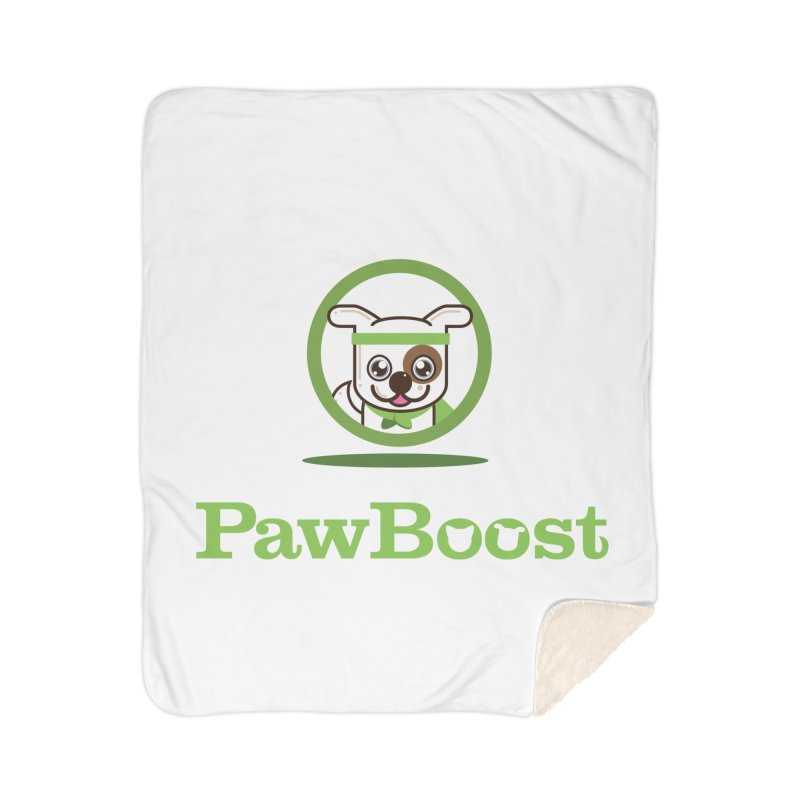 PawBoost Logo Home Blanket by PawBoost's Shop