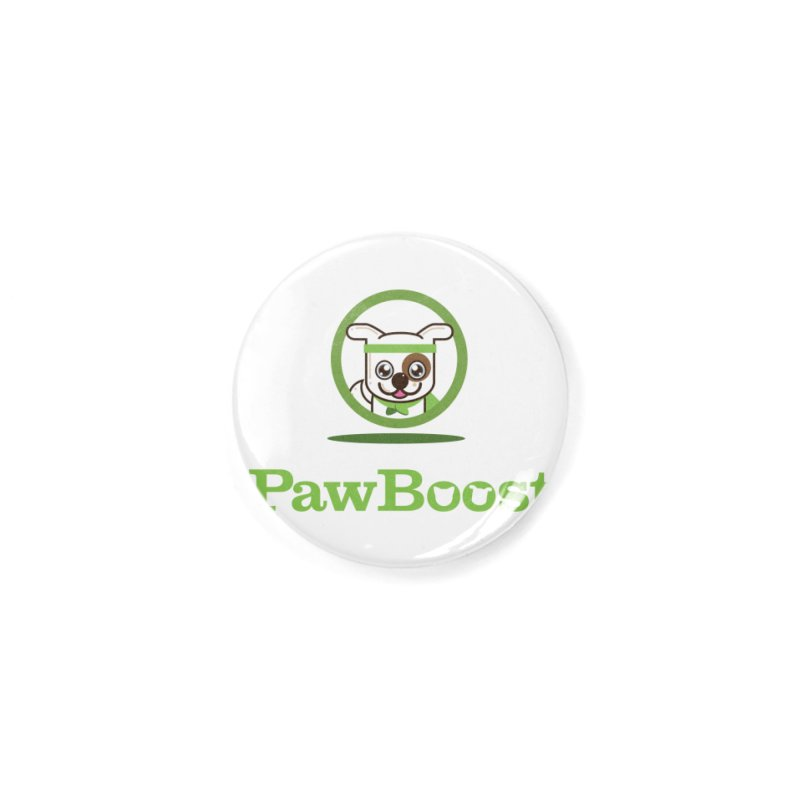 PawBoost Logo Accessories Button by PawBoost's Shop