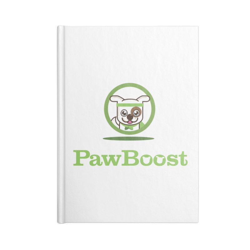 PawBoost Logo Accessories Notebook by PawBoost's Shop
