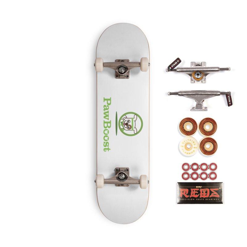 PawBoost Logo Accessories Skateboard by PawBoost's Shop
