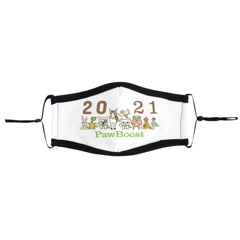 Hello 2021! Accessories Face Mask by PawBoost's Shop