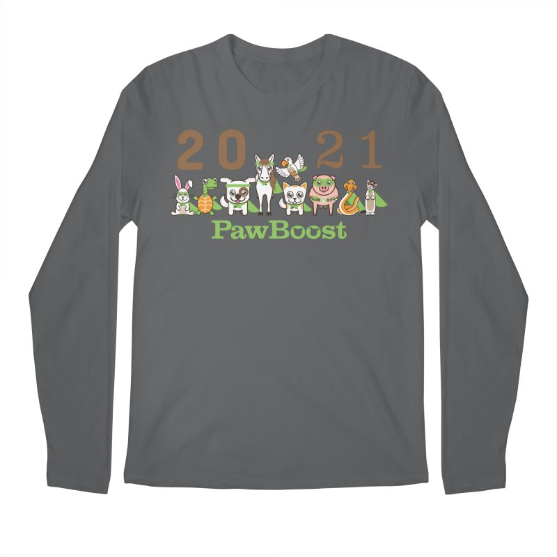 Hello 2021! Men's Longsleeve T-Shirt by PawBoost's Shop
