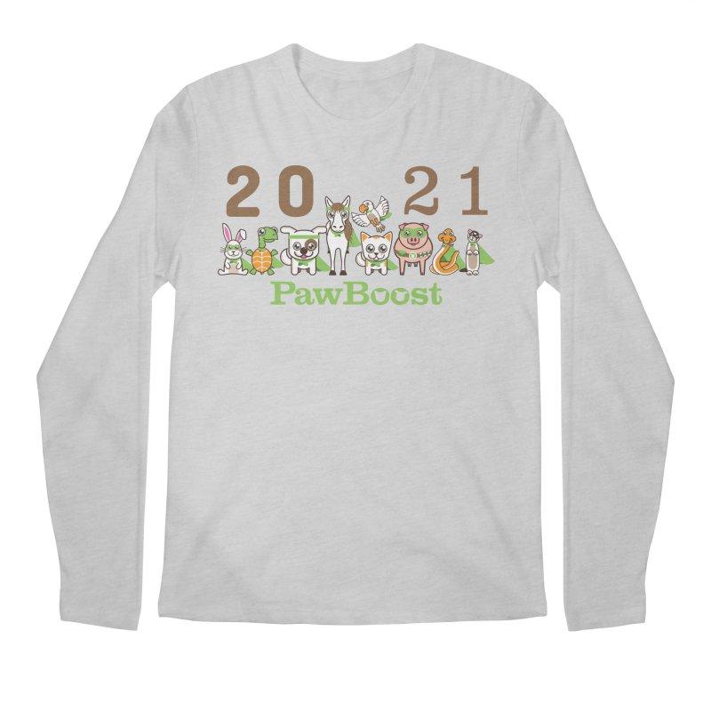 Hello 2021! Men's Longsleeve T-Shirt by PawBoost's Shop