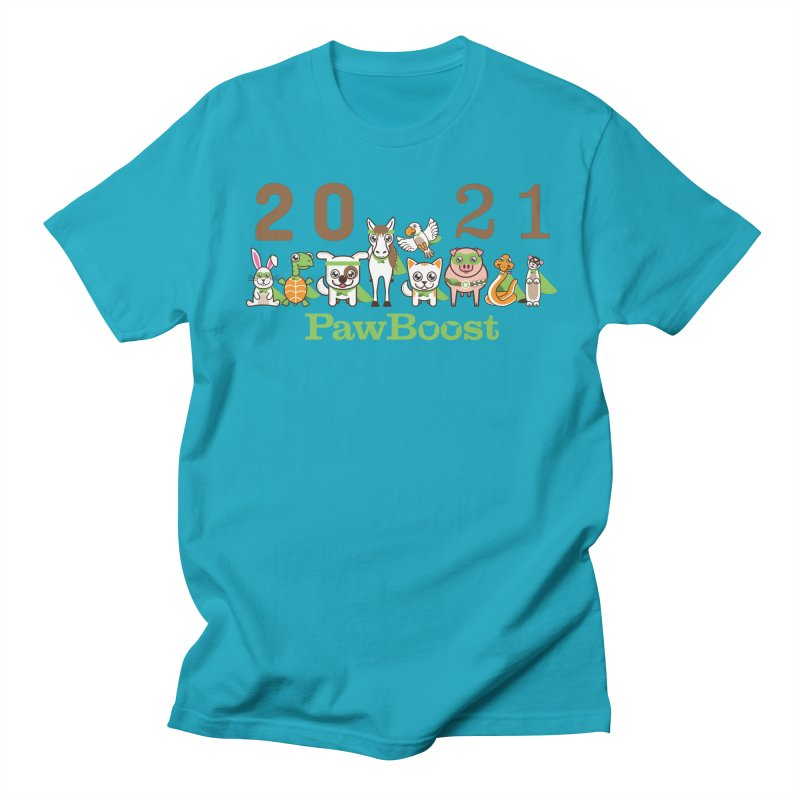 Hello 2021! Men's T-Shirt by PawBoost's Shop