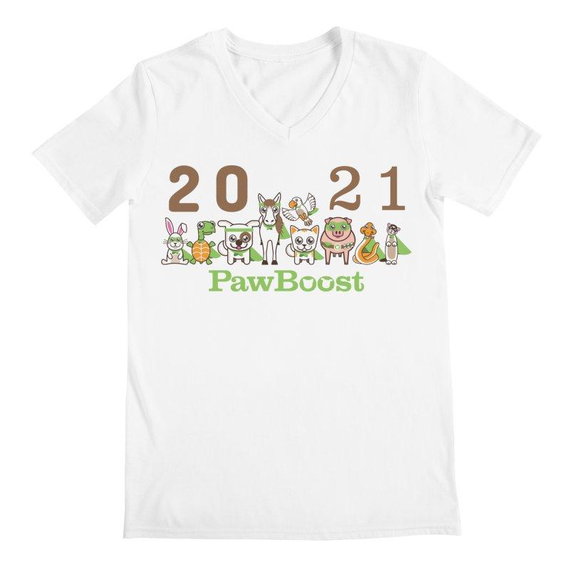 Hello 2021! Men's V-Neck by PawBoost's Shop