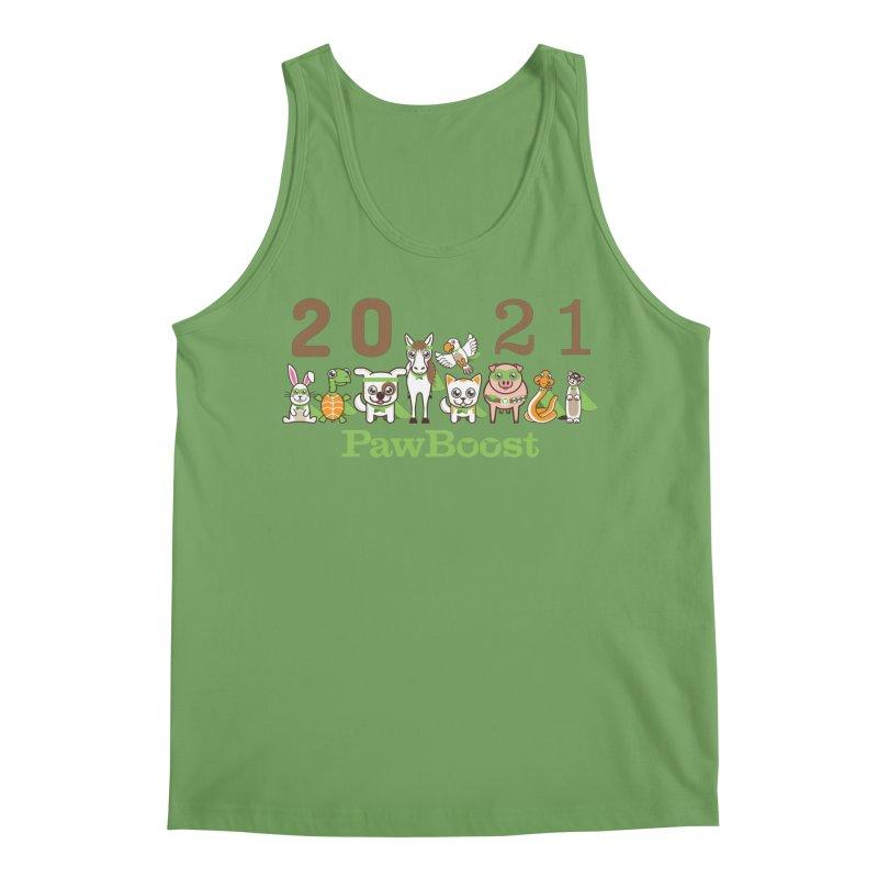 Hello 2021! Men's Tank by PawBoost's Shop
