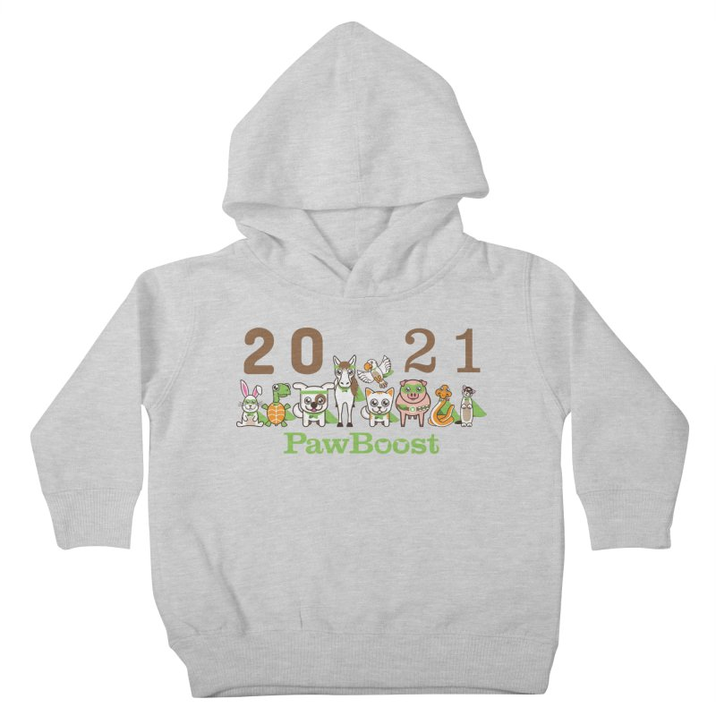 Hello 2021! Kids Toddler Pullover Hoody by PawBoost's Shop