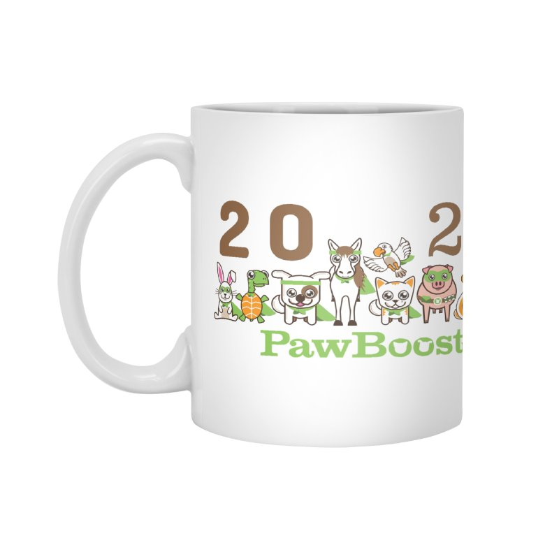 Hello 2021! Accessories Mug by PawBoost's Shop
