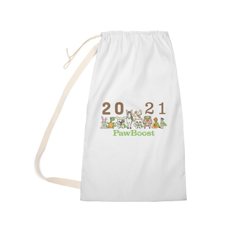 Hello 2021! Accessories Bag by PawBoost's Shop