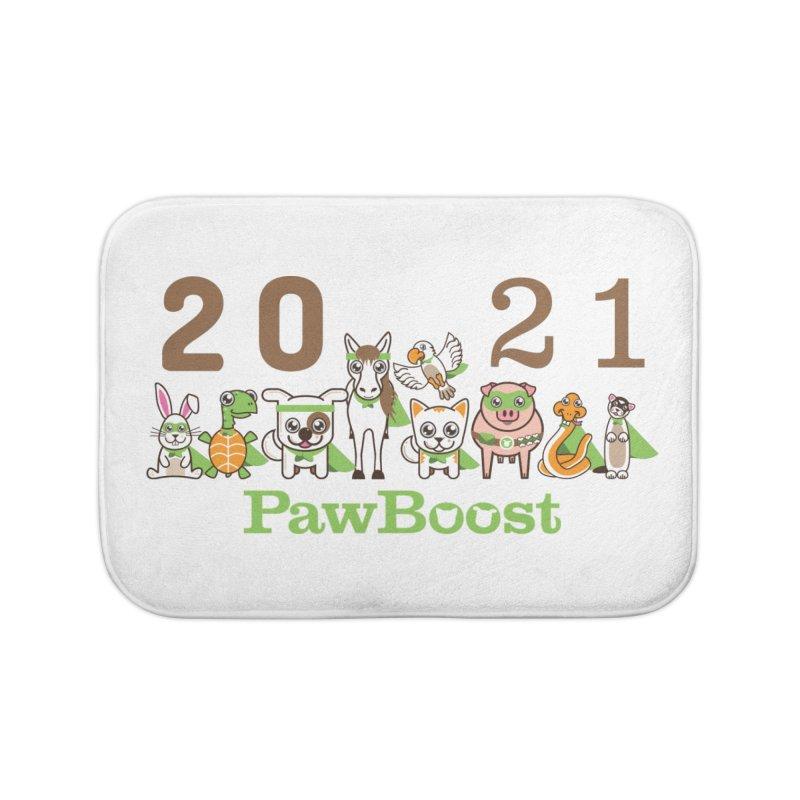 Hello 2021! Home Bath Mat by PawBoost's Shop