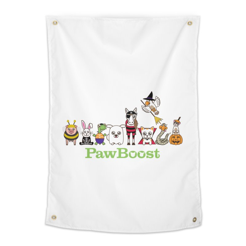 Rescue Squad (Halloween) Home Tapestry by PawBoost's Shop