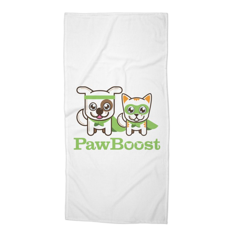 Toby & Moby Accessories Beach Towel by PawBoost's Shop