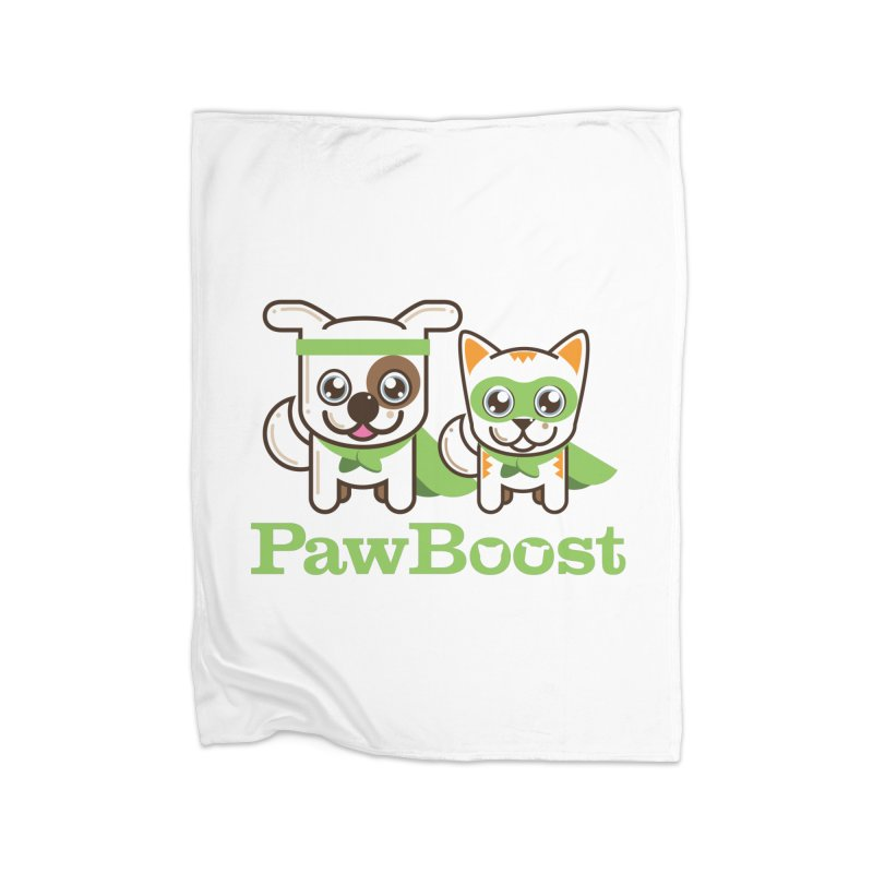 Toby & Moby Home Fleece Blanket Blanket by PawBoost's Shop