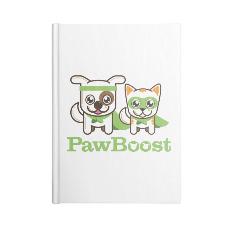 Toby & Moby Accessories Notebook by PawBoost's Shop