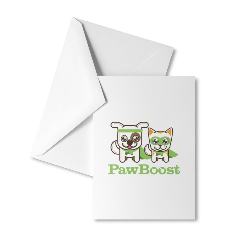 Toby & Moby Accessories Greeting Card by PawBoost's Shop