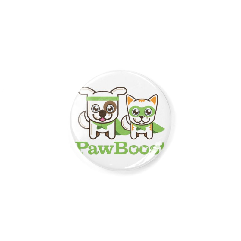 Toby & Moby Accessories Button by PawBoost's Shop