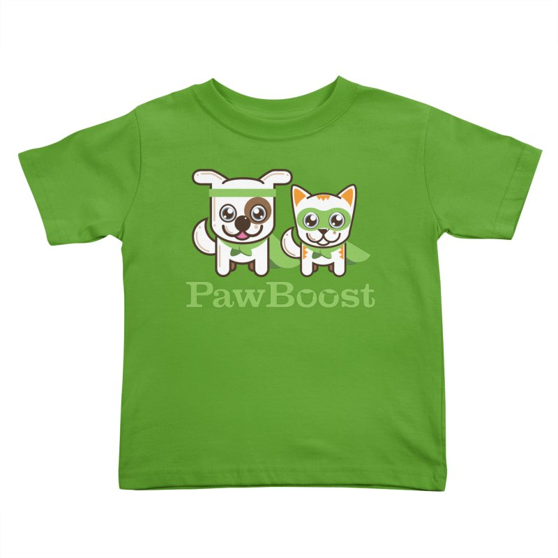 Toby & Moby Kids Toddler T-Shirt by PawBoost's Shop
