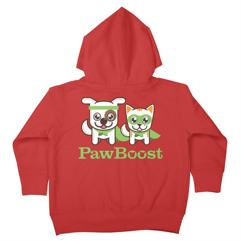 Toby & Moby Kids Toddler Zip-Up Hoody by PawBoost's Shop