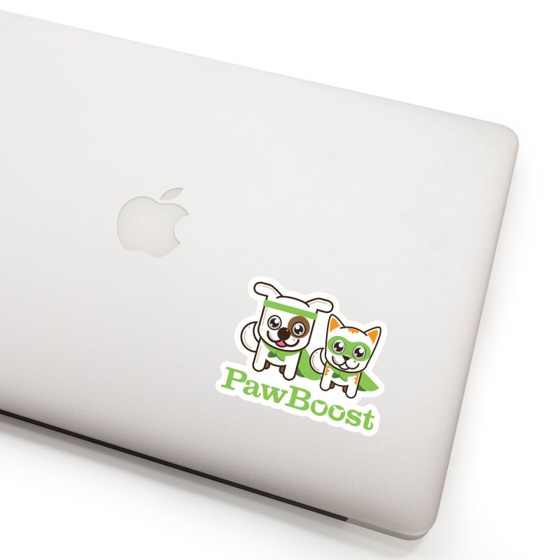 Toby & Moby Accessories Sticker by PawBoost's Shop