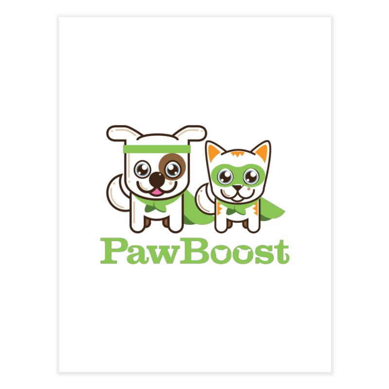 Toby & Moby Home Fine Art Print by PawBoost's Shop