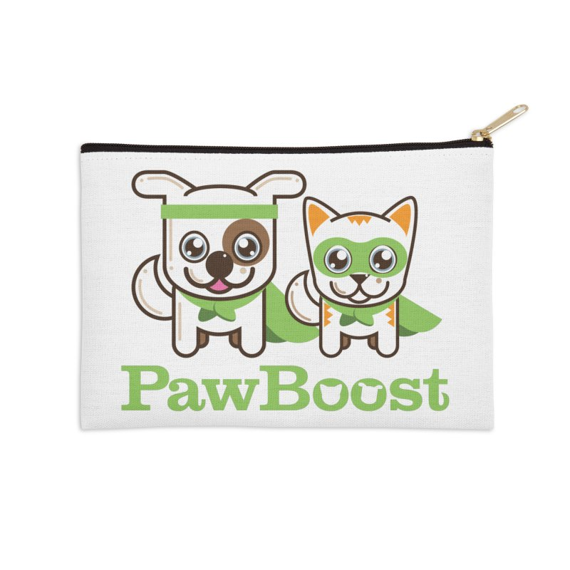 Toby & Moby Accessories Zip Pouch by PawBoost's Shop