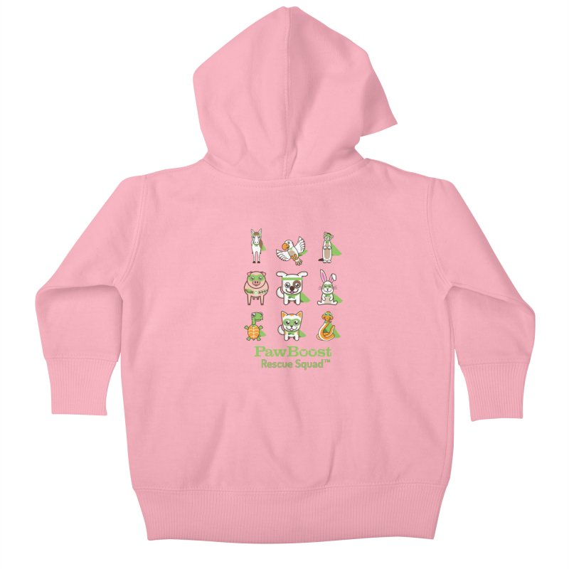 Rescue Squad (grid) Kids Baby Zip-Up Hoody by PawBoost's Shop