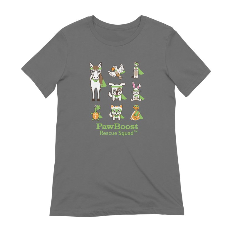 Rescue Squad (grid) Women's T-Shirt by PawBoost's Shop