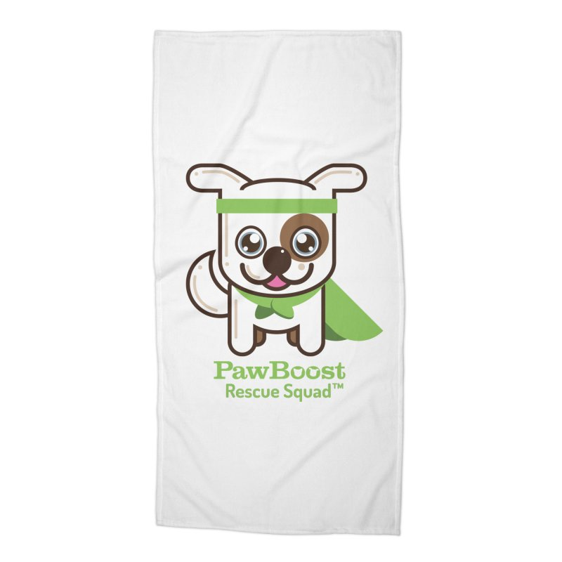 Toby (dog) Accessories Beach Towel by PawBoost's Shop