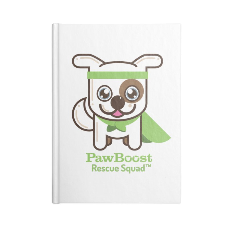 Toby (dog) Accessories Notebook by PawBoost's Shop