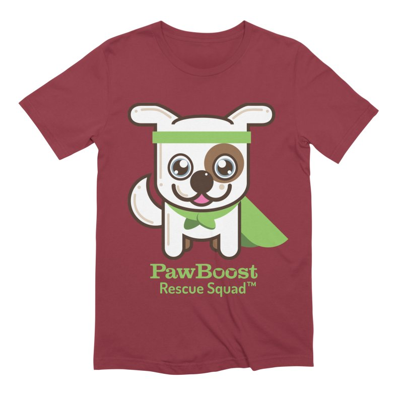 Toby (dog) Men's Extra Soft T-Shirt by PawBoost's Shop