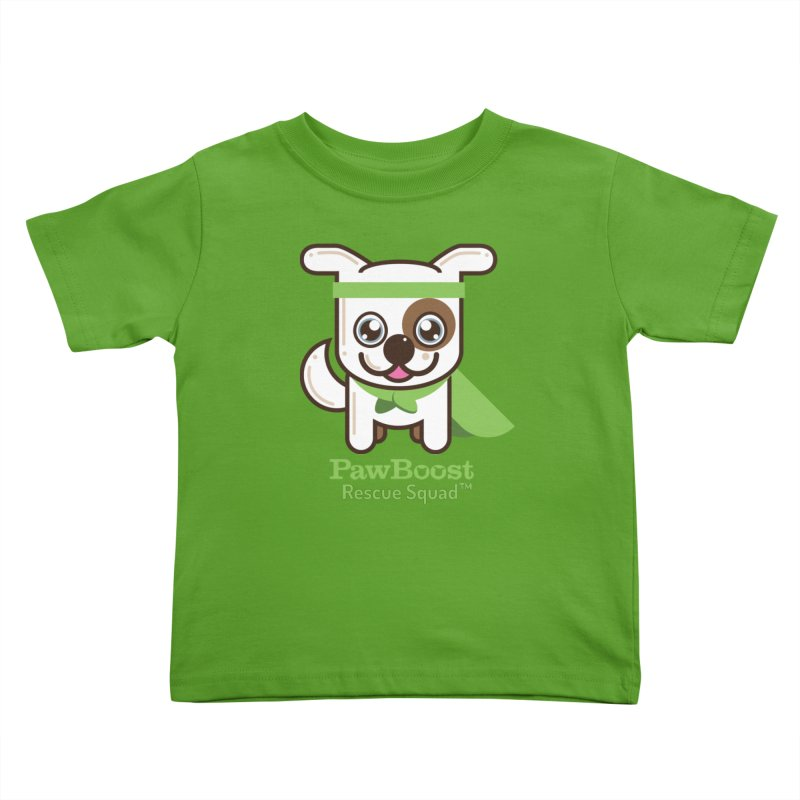Toby (dog) Kids Toddler T-Shirt by PawBoost's Shop