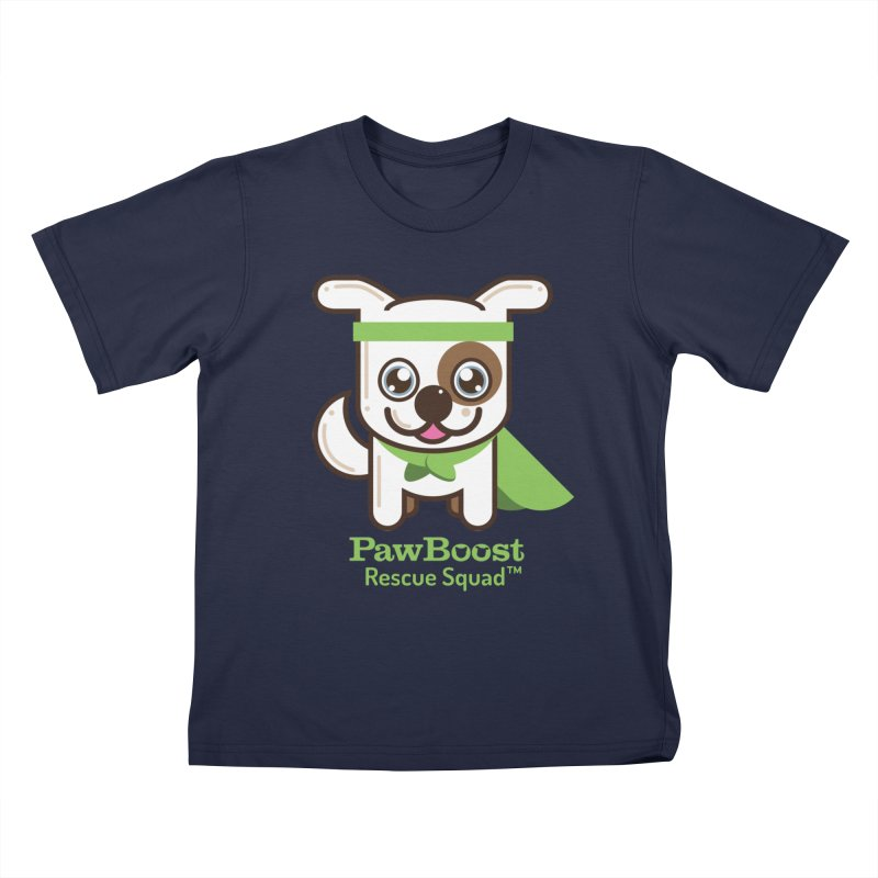 Toby (dog) Kids T-Shirt by PawBoost's Shop