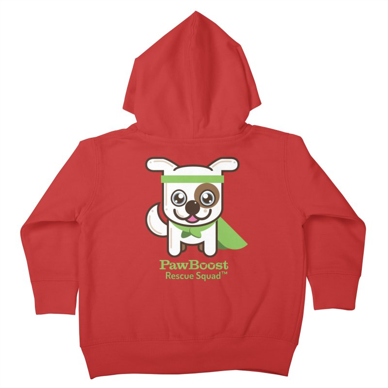Toby (dog) Kids Toddler Zip-Up Hoody by PawBoost's Shop