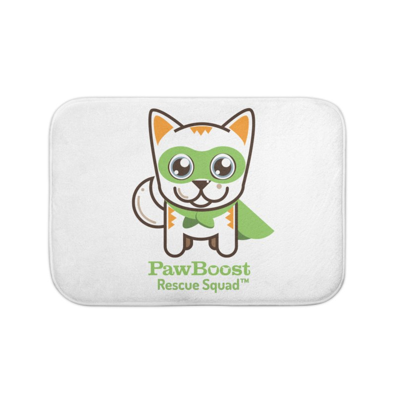 Moby (cat) Home Bath Mat by PawBoost's Shop