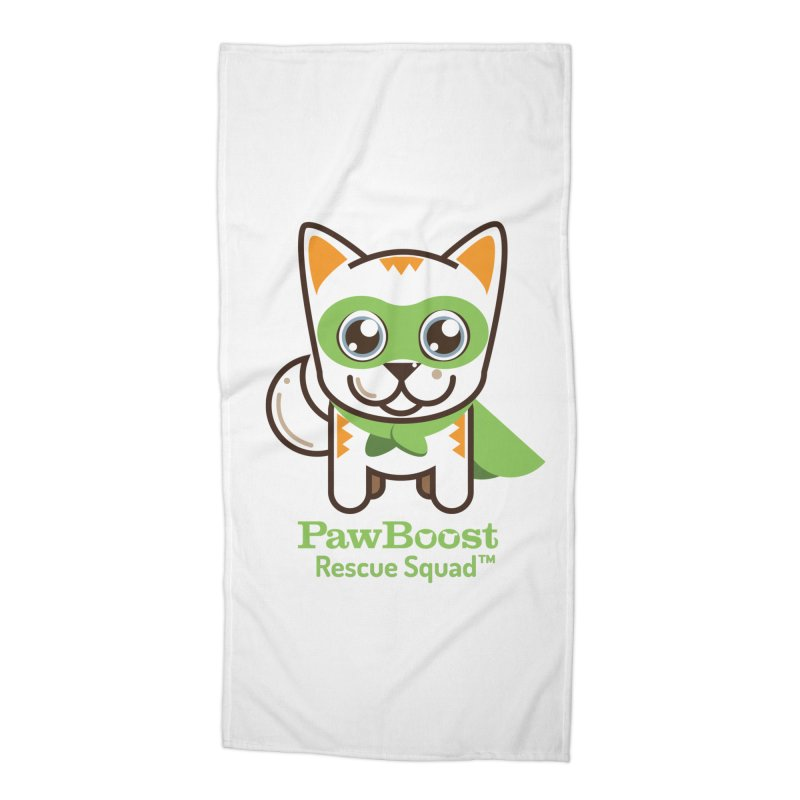 Moby (cat) Accessories Beach Towel by PawBoost's Shop
