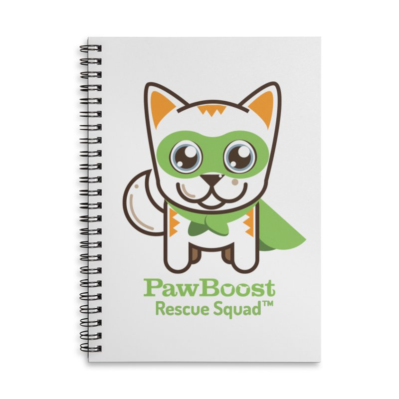 Moby (cat) Accessories Notebook by PawBoost's Shop