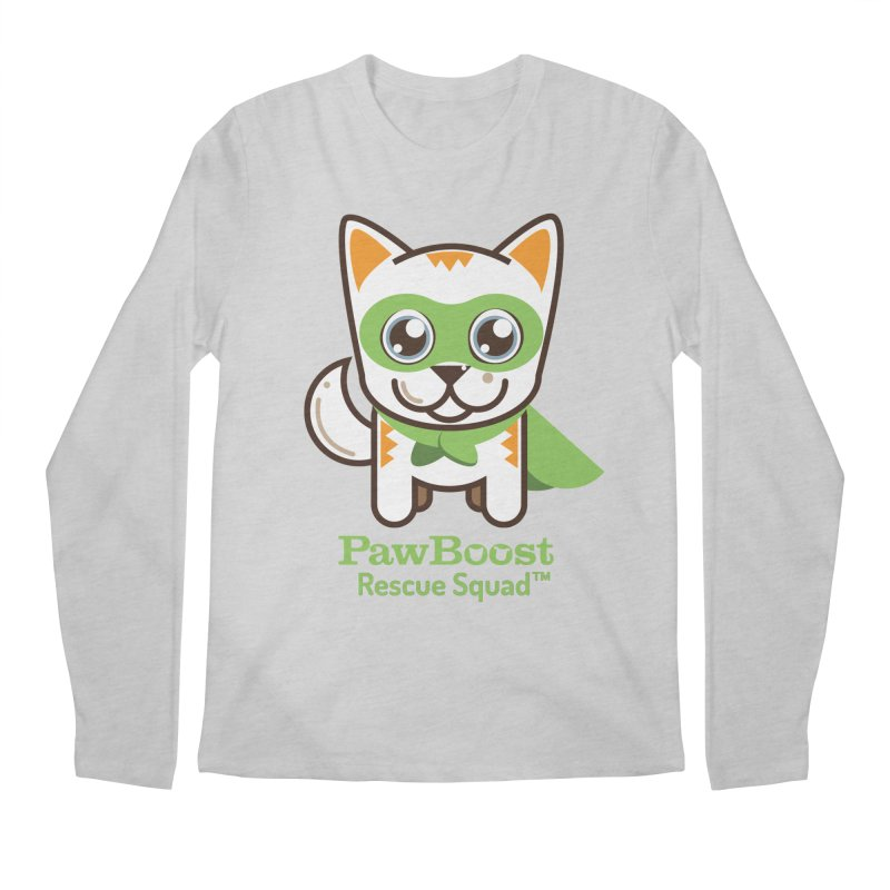 Moby (cat) Men's Longsleeve T-Shirt by PawBoost's Shop